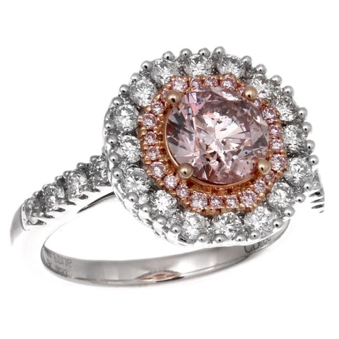 6F602866AQLRDP 18KT Pink Diamond Ring