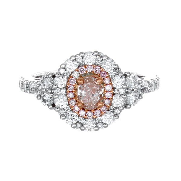 6F602916AQLRPD 18KT Pink Diamond Ring