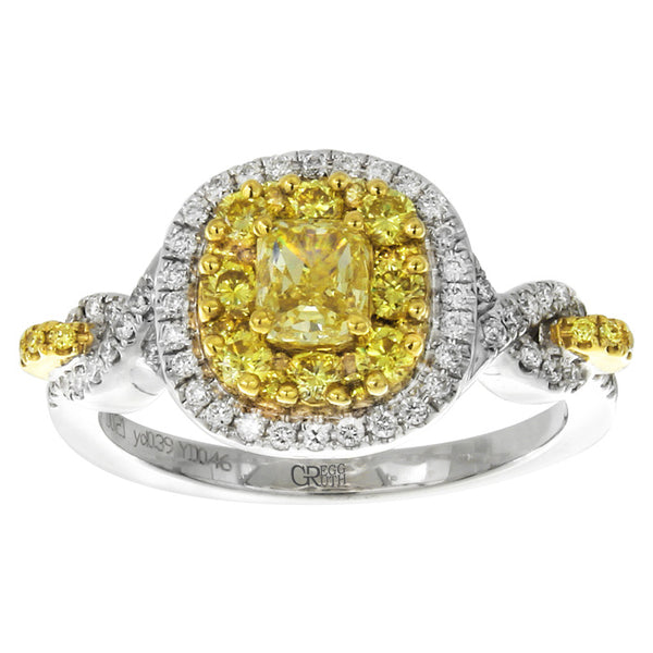 6F602942AULRYD 18KT Yellow Diamond Ring