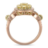6F602942UQLRYD 18KT Yellow Diamond Ring