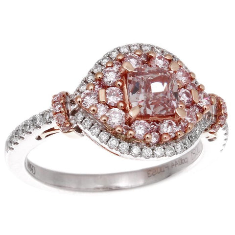 6F603123AQLRPD 18KT Pink Diamond Ring