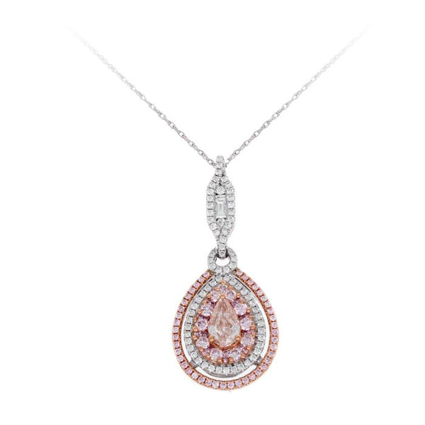 6F603124AQPDPD 18KT Pink Diamond Pendant $Ask For Price