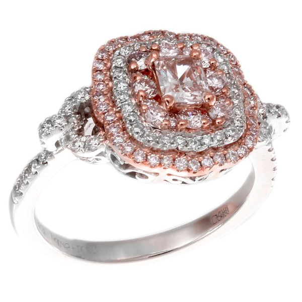 6F603341AQLRPD 18KT Pink Diamond Ring