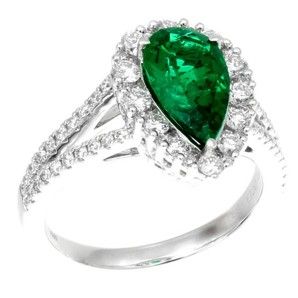 6F603395AWLRDE 18KT Emerald Ring $Ask For Price