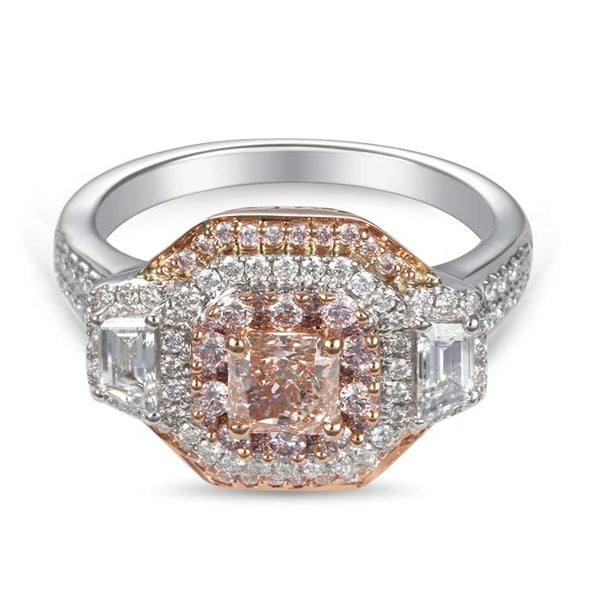 6F603688AQLRPD 18KT Pink Diamond Ring