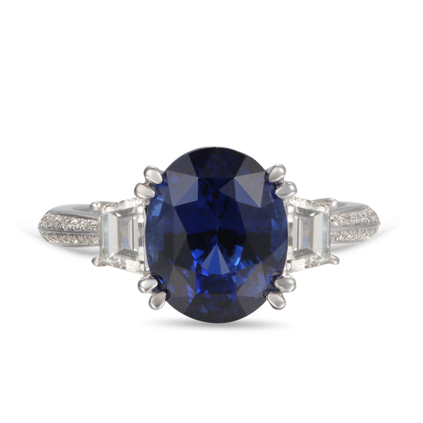 6F603836AWLRDS 18KT Blue Sapphire Ring $Ask For Price