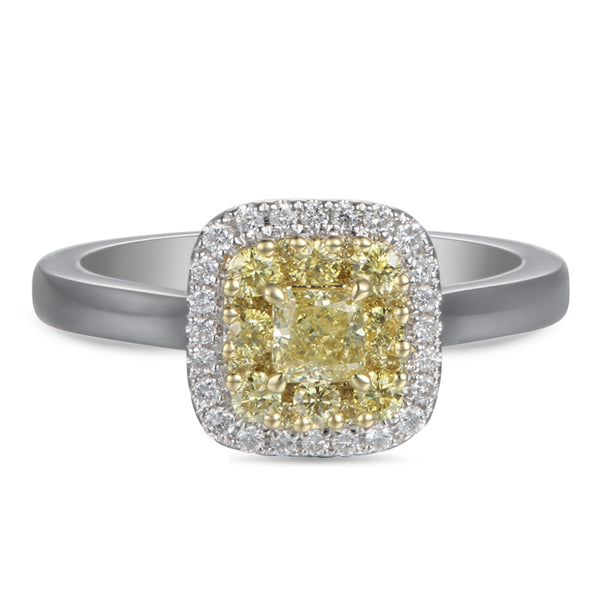 6F603843AULRBYD 18KT Yellow Diamond Ring