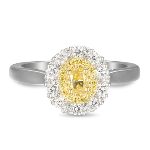 6F603844AULRBYD 18KT Yellow Diamond Ring
