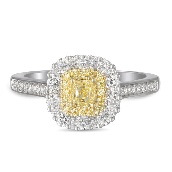 6F603845AULRBYD 18KT Yellow Diamond Ring