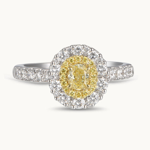 6F603846AULRBYD 18KT Yellow Diamond Ring