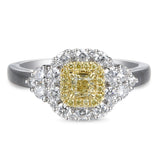 6F603851AULRBYD 18KT Yellow Diamond Ring
