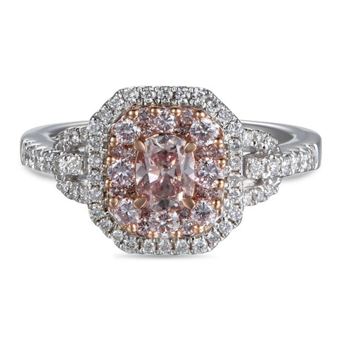 6F604479AQLRPD 18KT Pink Diamond Ring