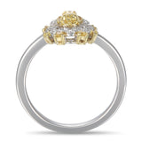 6F604494AULRYD 18KT Yellow Diamond Ring