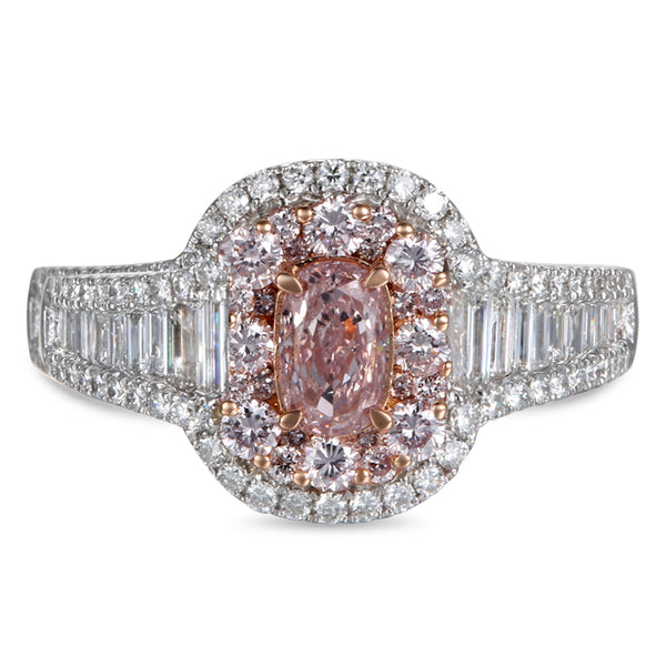 6F604572AQLRPD 18KT Pink Diamond Ring