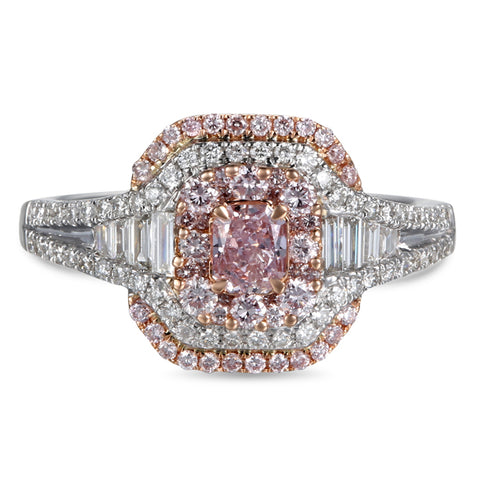 6F604625AQLRPD 18KT Pink Diamond Ring