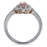 6F604629AQLRPD 18KT Pink Diamond Ring