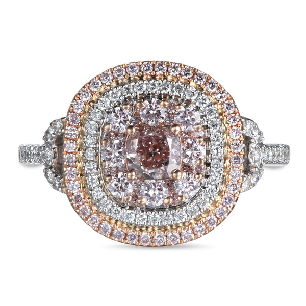 6F604630AQLRPD 18KT Pink Diamond Ring