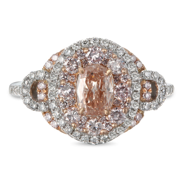 6F604752AQLRPD 18KT Pink Diamond Ring