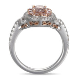 6F604755AQLRPD 18KT Pink Diamond Ring
