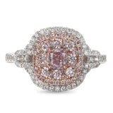 6F604757AQLRPD 18KT Pink Diamond Ring