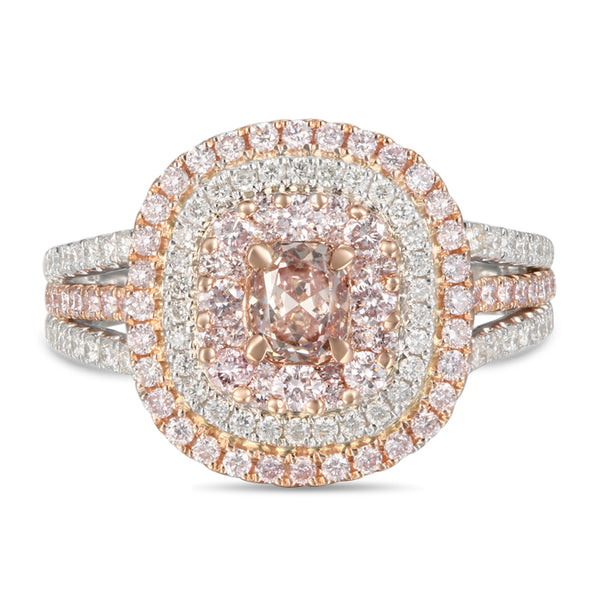 6F605016AQLRPD 18KT Pink Diamond Ring