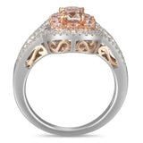 6F605059AQLRPD 18KT Pink Diamond Ring