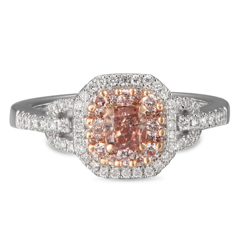 6F605100AQLRPD 18KT Pink Diamond Ring