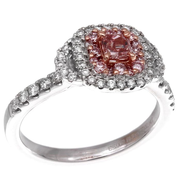 6F605102AQLRPD 18KT Pink Diamond Ring