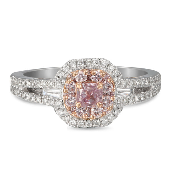 6F605105AQLRPD 18KT Pink Diamond Ring