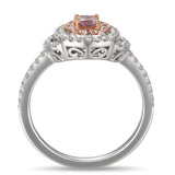 6F605187AQLRPD 18KT Pink Diamond Ring