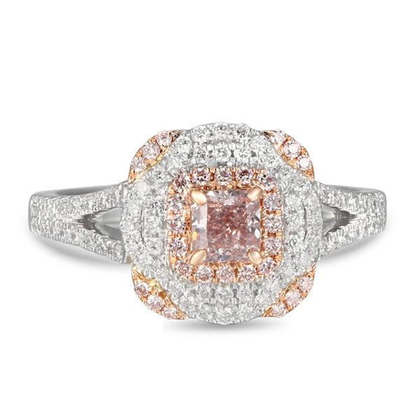 6F605192AQLRPD 18KT Pink Diamond Ring