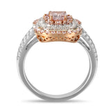 6F605198AQLRPD 18KT Pink Diamond Ring
