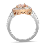6F605217AQLRPD 18KT Pink Diamond Ring
