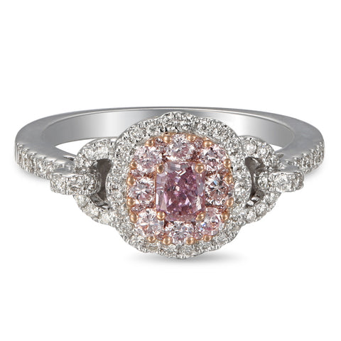 6F605223AQLRPD 18KT Pink Diamond Ring