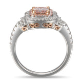 6F605234AQLRPD 18KT Pink Diamond Ring