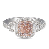 6F605238AQLRPD 18KT Pink Diamond Ring