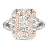 6F605259AQLRPD 18KT Pink Diamond Ring