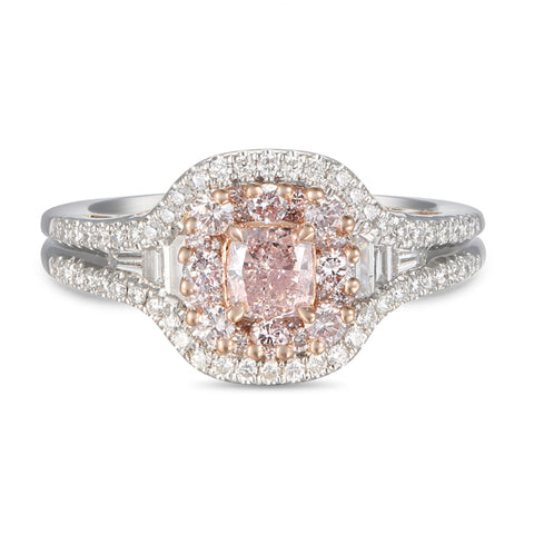 6F605418AQLRPD 18KT Pink Diamond Ring