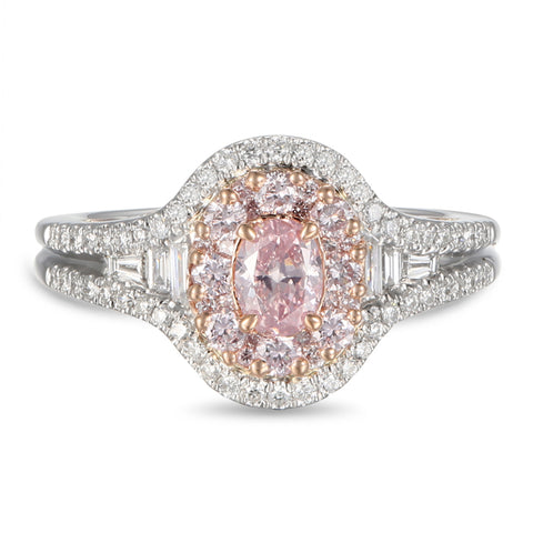 6F605419AQLRPD 18KT Pink Diamond Ring