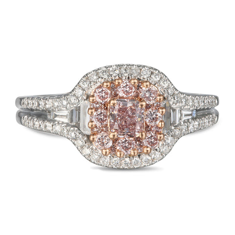 6F605420AQLRPD 18KT Pink Diamond Ring