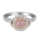 6F605424AQLRPD 18KT Pink Diamond Ring