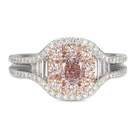 6F605546AQLRPD 18KT Pink Diamond Ring