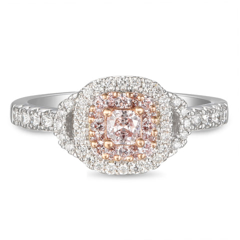 6F605577AQLRPD 18KT Pink Diamond Ring