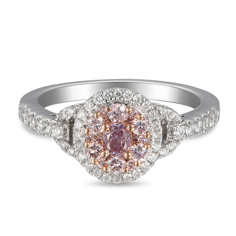 6F605578AQLRPD 18KT Pink Diamond Ring