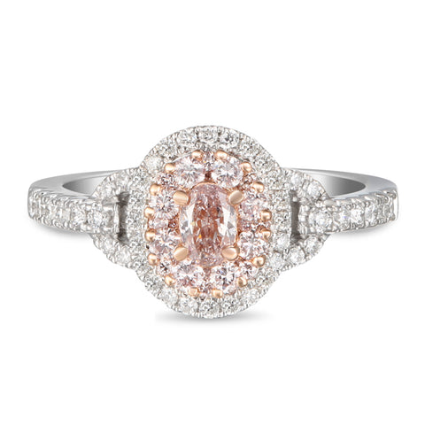 6F605579AQLRPD 18KT Pink Diamond Ring
