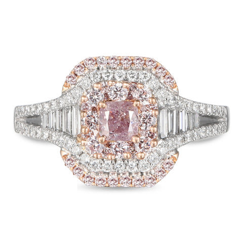 6F605580AQLRPD 18KT Pink Diamond Ring