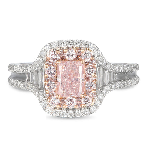 6F605581AQLRPD 18KT Pink Diamond Ring