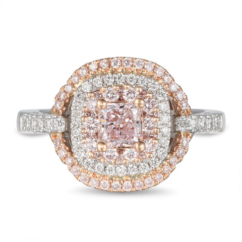 6F605596AQLRPD 18KT Pink Diamond Ring