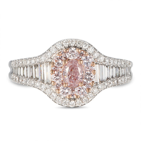 6F605597AQLRPD 18KT Pink Diamond Ring