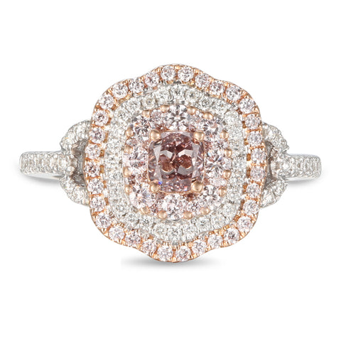 6F605600AQLRPD 18KT Pink Diamond Ring